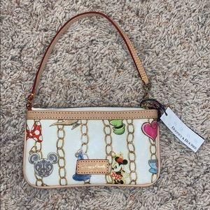 Brand new Dooney & Bourke Disney wristlet/purse